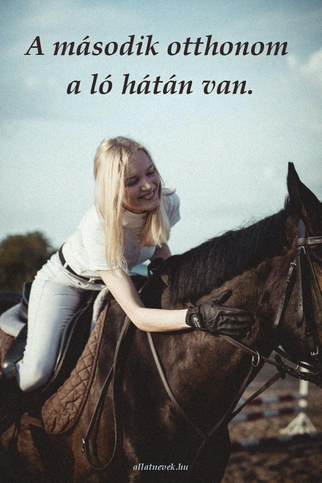 lovas idézet második otthon